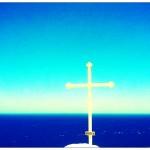 Religieuze tekens, symbolen en kerken ... Langs Griekse wegen kom je ze om de +/-250m tegen ...